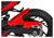 *BODYSTYLE* HUGGER GSX-S 2016- RED