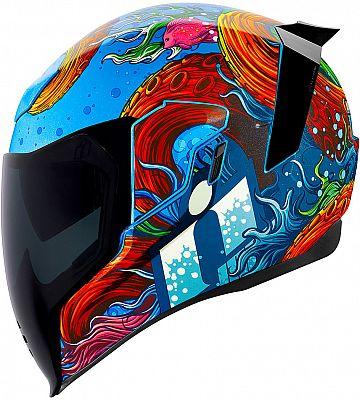 Icon Airflite Inky, integral helmet